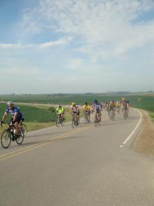 One of the many RAGBRAI hills